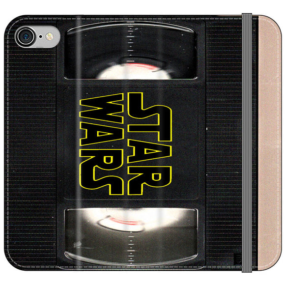 Star Wars Vhs Tape Hard Book iPhone 7 Flip Case | Frostedcase