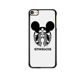 official photos c5931 fc803 Starbucks Minnie Mouse Logo Black iPod 6 Case | Frostedcase