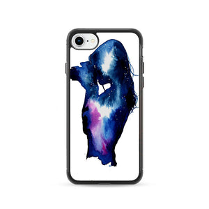 Starry Night Sky Silhouette iPhone 8 Case | Frostedcase