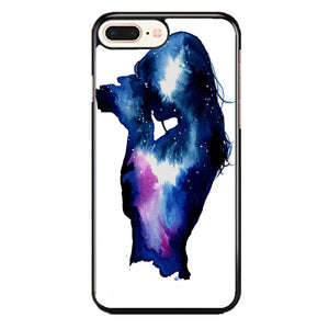 Starry Night Sky Silhouette iPhone 8 Plus Case | Frostedcase