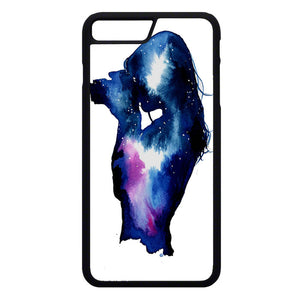 Starry Night Sky Silhouette iPhone 7 Plus Case | Frostedcase