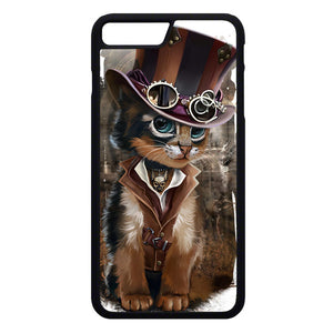 Steampunk Cat iPhone 7 Plus Case | Frostedcase