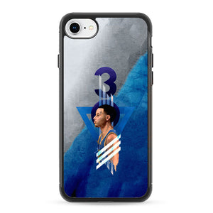buy popular 3032b 01224 Steph Curry Warrior iPhone 8 Case | Frostedcase