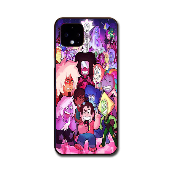 Steven Universe All Character Selfie Google Pixel 4 XL Case | Frostedcase