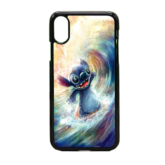 Stitch Art iPhone X Case | Frostedcase