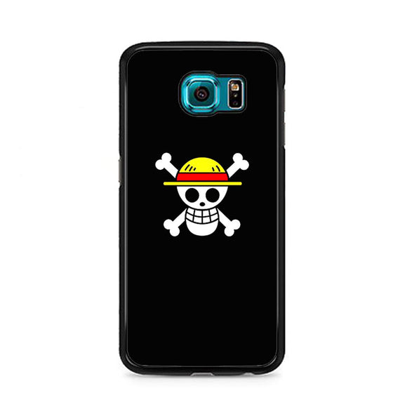 Straw Hat Jolly Roger Samsung Galaxy S6 Case | Frostedcase