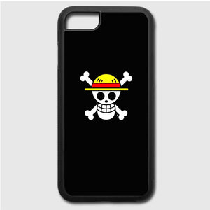 Straw Hat Jolly Roger iPhone 7 Case | Frostedcase