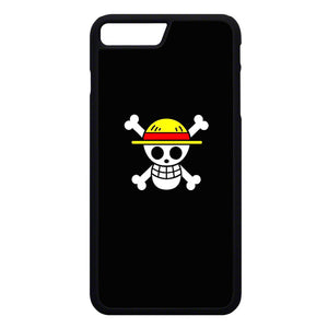 Straw Hat Jolly Roger iPhone 7 Plus Case | Frostedcase