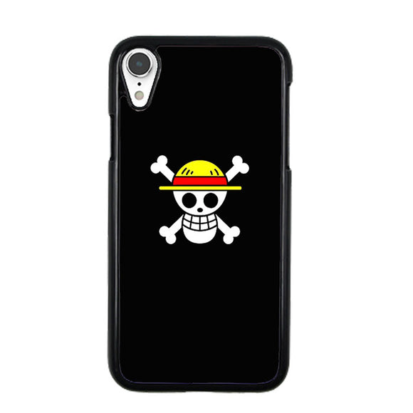 Straw Hat Jolly Roger iPhone XR Case | Frostedcase