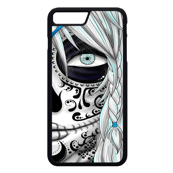 Sugar Skull Girl iPhone 7 Plus Case | Frostedcase