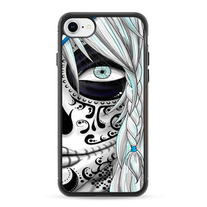 Sugar Skull Girl iPhone 8 Case | Frostedcase