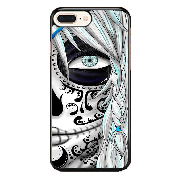 Sugar Skull Girl iPhone 8 Plus Case | Frostedcase