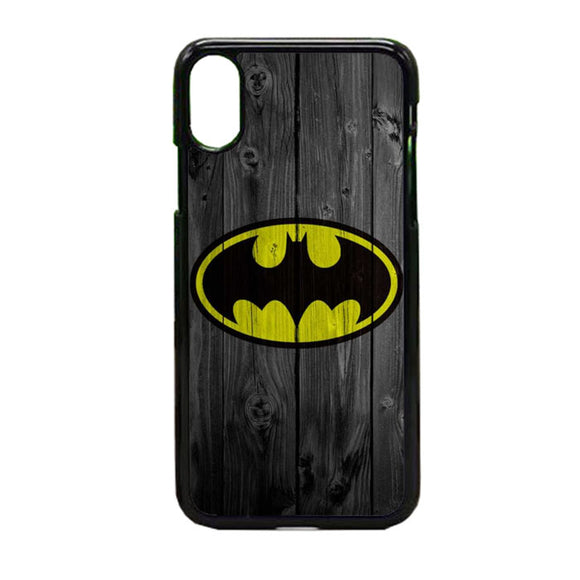 Super Hero Batman Wooden iPhone X Case | Frostedcase