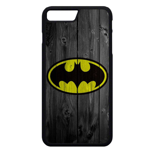 Super Hero Batman Wooden iPhone 7 Plus Case | Frostedcase