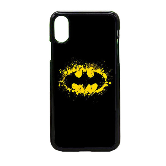Super Hero Grafity Batman iPhone X Case | Frostedcase