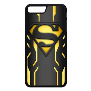 Super Hero Superman Logo Metallic iPhone 7 Plus Case | Frostedcase