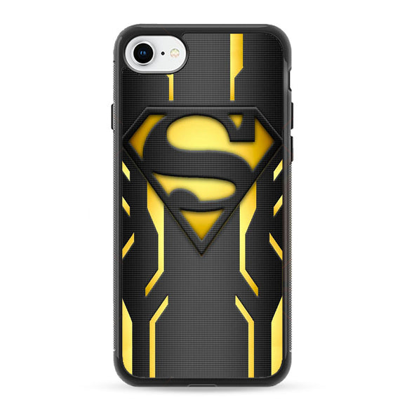 Super Hero Superman Logo Metallic iPhone 8 Case | Frostedcase