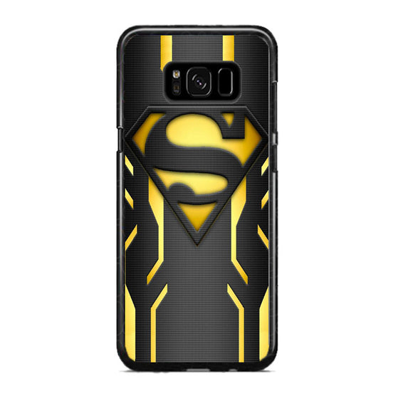 Super Hero Superman Logo Metallic Samsung Galaxy S8 Plus Case | Frostedcase