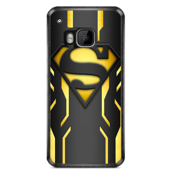 Super Hero Superman Logo Metallic HTC One M9 Case | Frostedcase