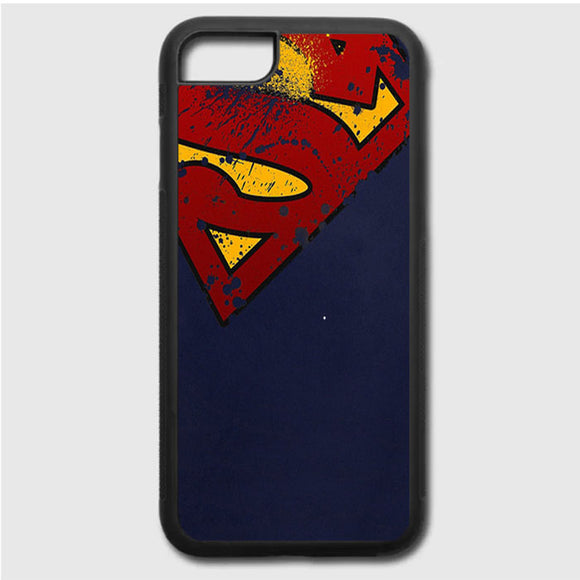 Super Herro Superman Blue iPhone 7 Case | Frostedcase