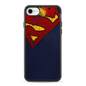 Super Herro Superman Blue iPhone 8 Case | Frostedcase