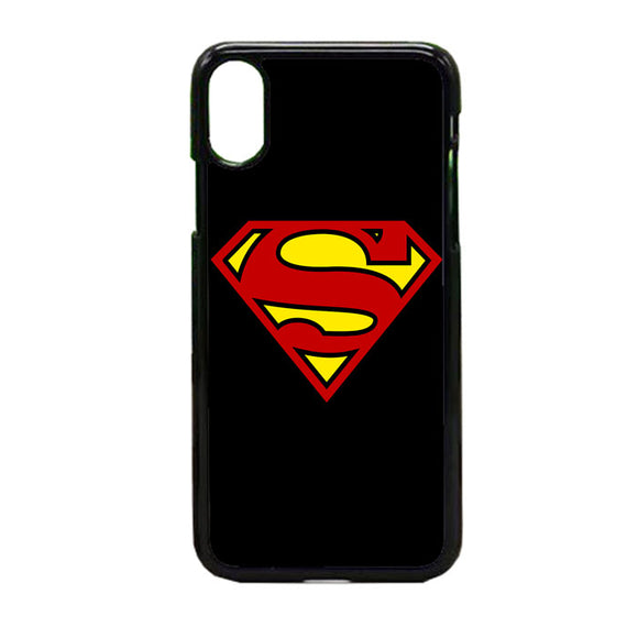 Superhero Superman iPhone X Case | Frostedcase