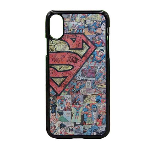 Supermen iPhone X Case | Frostedcase