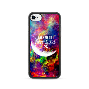 Take Me To Neverland iPhone 8 Case | Frostedcase
