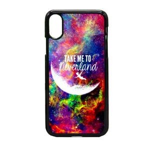 Take Me To Neverland iPhone X Case | Frostedcase