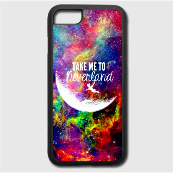 Take Me To Neverland iPhone 7 Case | Frostedcase