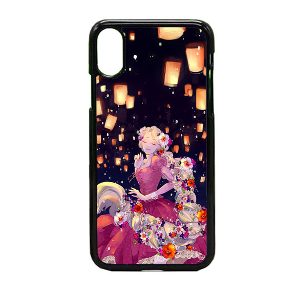 Tangled Animee iPhone X Case | Frostedcase