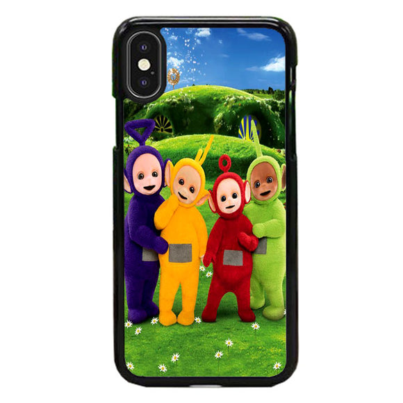 Teletubbies In Front Of The Home iPhone XS Max Case | Frostedcase
