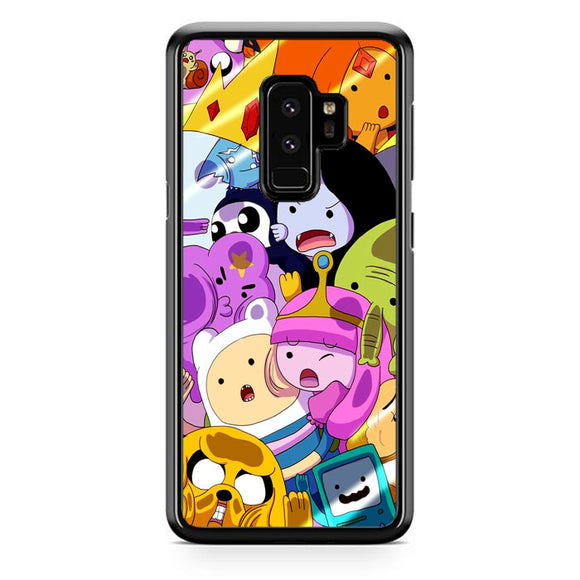 The Adventure Time Samsung Galaxy S9 Plus Case | Frostedcase