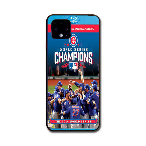 The Chicago Cubs Champions Google Pixel 4 Case | Frostedcase