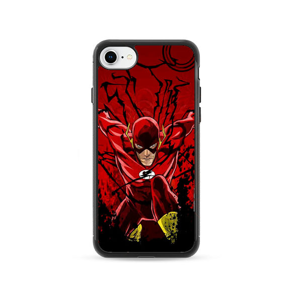 The Flash Dc Comics iPhone 8 Case | Frostedcase