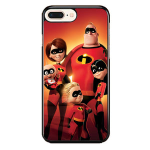 The Incredibles Fam iPhone 8 Plus Case | Frostedcase
