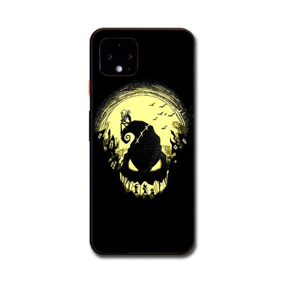 The Nightmare Before Christmas Halloween Google Pixel 4 Case | Frostedcase