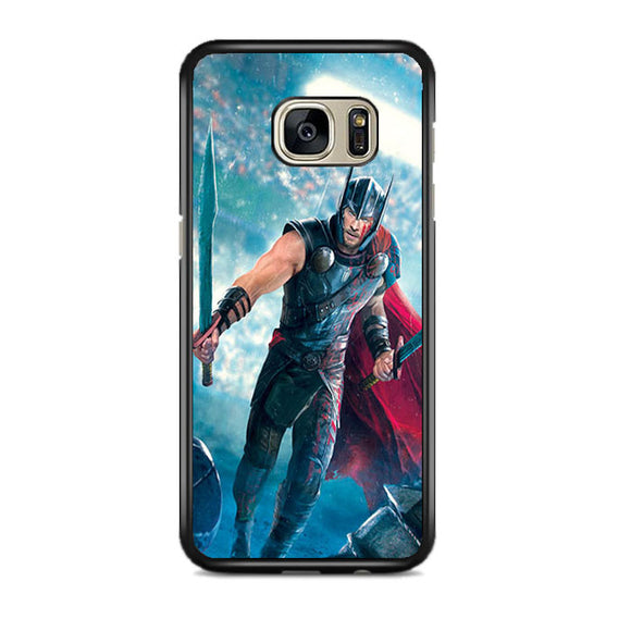 The Thor Ragnarok Samsung Galaxy S7 EDGE Case | Frostedcase