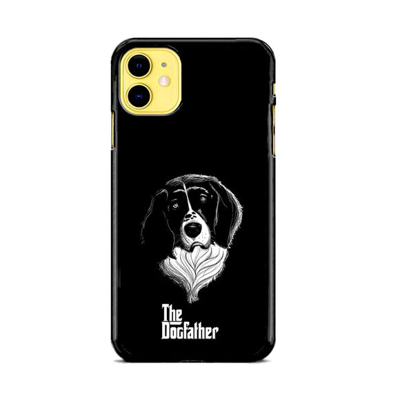 The Dogfather Art Dog iPhone 11 Case | Frostedcase