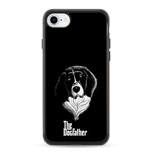 The Dogfather Art Dog iPhone 8 Case | Frostedcase