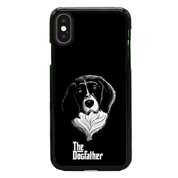 The Dogfather Art Dog iPhone XS Case | Frostedcase