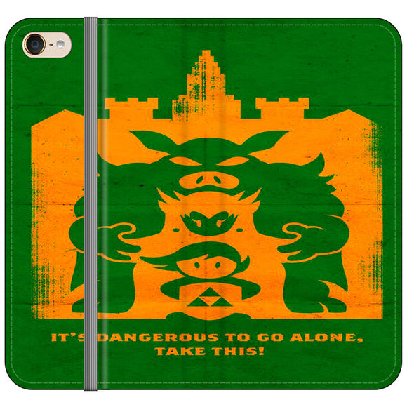 The Legend Of Zelda Dangerous Castle iPod 6 Flip Case | Frostedcase