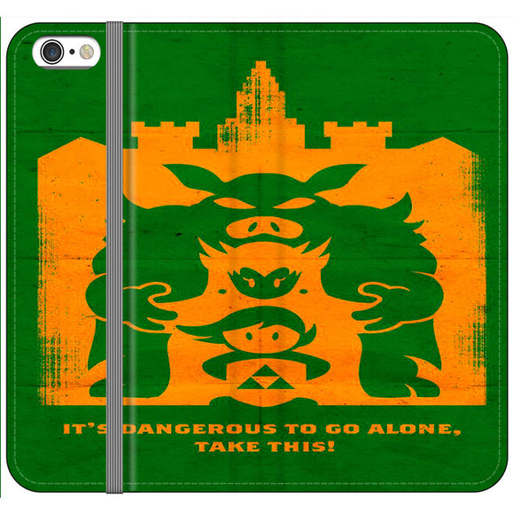 The Legend Of Zelda Dangerous Castle iPhone 6 Plus|6S Plus Flip Case | Frostedcase