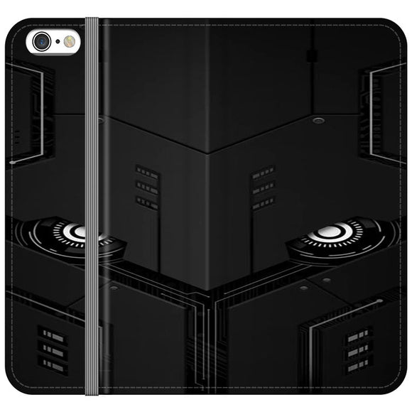 The Texture Robot iPhone 6 Plus|6S Plus Flip Case | Frostedcase