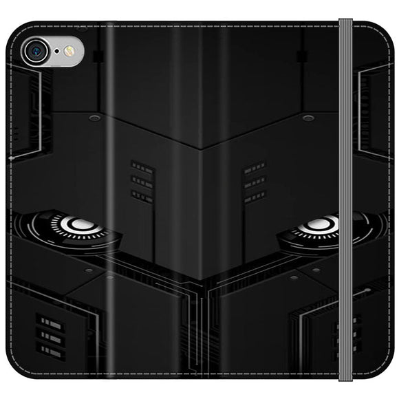 The Texture Robot iPhone 8 Flip Case | Frostedcase