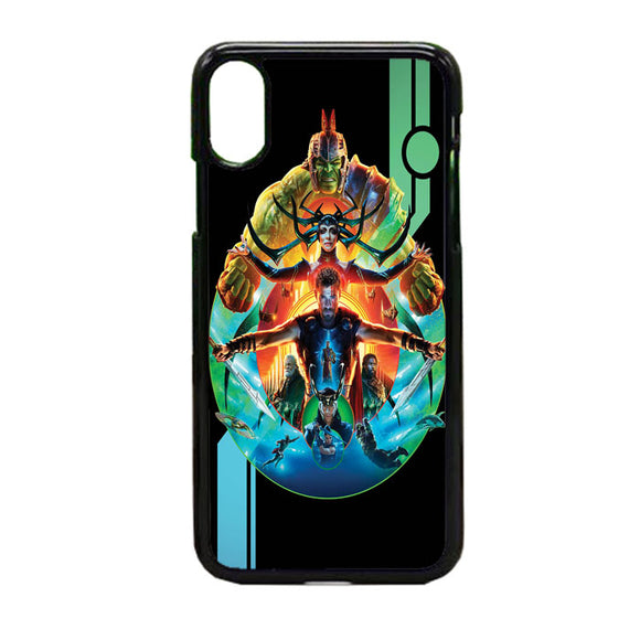 Thor Ragnarok Full iPhone X Case | Frostedcase