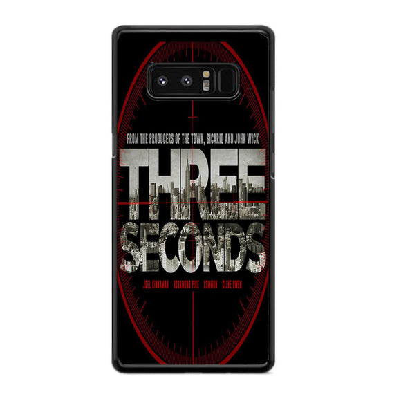 Three Seconds 2018 Movie Poster Samsung Galaxy Note 8 Case | Frostedcase
