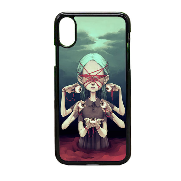 Tiia Reijonen Harbinger iPhone X Case | Frostedcase