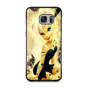 check out acf91 9454f Tinkerbell Art Samsung Galaxy S7 Case | Frostedcase