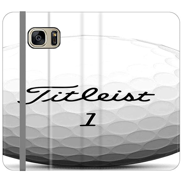 Titleist Ball Samsung Galaxy S7 EDGE Flip Case | Frostedcase